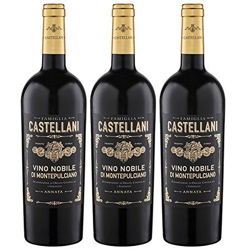 Castellani Famiglia Vino Nobile Di Montepul. DOCG 2012 (3 x 0.75 l)