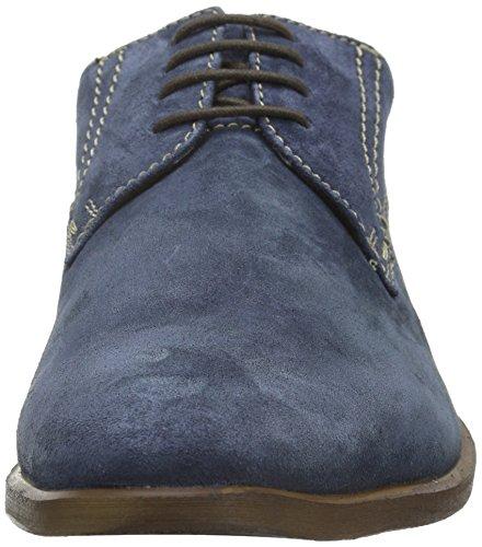 Bugatti 313159011400, Derby Homme Bleu - Blau (d.blau 4100)