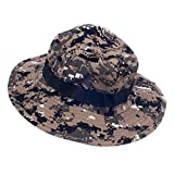 #9: Imported Mens Camo Military Boonie Cap Sun Bucket Brim Army Fishing Hiking Hat #6