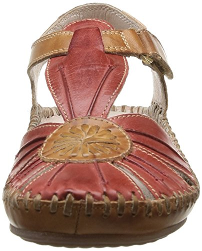 Pikolinos - P. Vallarta 8899, Sandali Dress da donna Rosso (Rouge (Sandia))