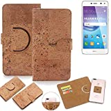K-S-Trade 360° Cover cork Case for Huawei Y6 2017 Dual SIM