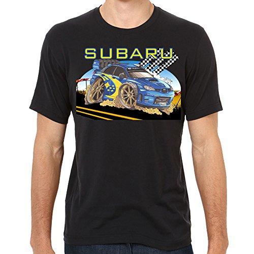 Genuine Subaru Extreme Car Drift Racing Camber Impreza Blue Men Tee T-Shirt