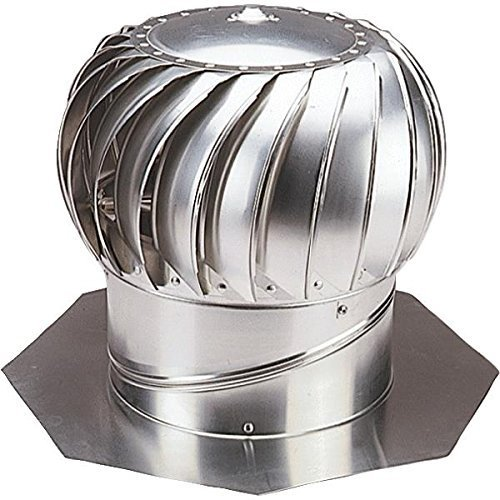 Turbine Vent (Ventamatic CX14IBGVMIL. 14 Standard Internally Braced Galvanized Wind Turbine by Ventamatic)
