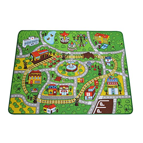 Living Room Carpet Children S Carpets Playground Car Blanket