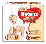 #4: Huggies Ultra Soft Diaper Pants - Medium (7-12 Kg), 20 Pieces Pack