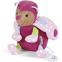 Sterntaler Mädchen Spieluhr, Stofftier Käfer Katharina, Integriertes Spielwerk, Pink preisvergleich bei kleinkindspielzeugpreise.eu