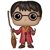 Funko Pop! Movies: Harry Potter Quidditch Harry, Action Figure - 5902