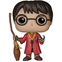 Pop! Movies Muñeco cabezón Harry Potter Quidditch (Funko 5902)