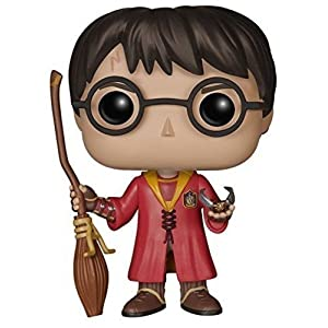 Pop! Movies - Muñeco cabezón Harry Potter Quidditch (Funko 5902) 5