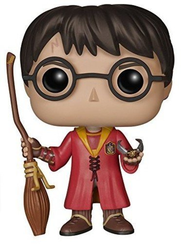 Pop! Movies Muñeco Cabezón Harry Potter Quidditch (Funko 5902)