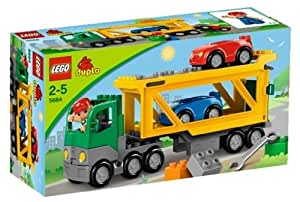 LEGO Duplo Town 5684 - Autotransporter: Amazon.de: Spielzeug