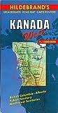 Hildebrands Urlaubskarten, Canada, West (Hildebrands Canada maps)