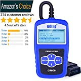 Best Car Diagnostic Tools - udiag OBD2 Fault Code Reader OBDII Scanner, Universal Review
