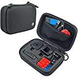 CamKix Camera and Accessory Case for GoPro HERO4 Session Cameras - Ideal for Travel or Storage - Complete Protection - Perfect Fit - Carabiner and Microfiber Cleaning Cloth Included