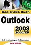 Image de Das große Buch Outlook 2003, 2000, XP