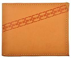 Exotique Mens Beige Faux Leather Wallet (WM0006BG)