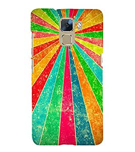 Fuson Designer Back Case Cover for Huawei Honor 7 :: Huawei Honor 7 (Enhanced Edition) :: Huawei Honor 7 Dual SIM ( Ethnic Pattern Patterns Floral Decorative Abstact Love Lovely Beauty )