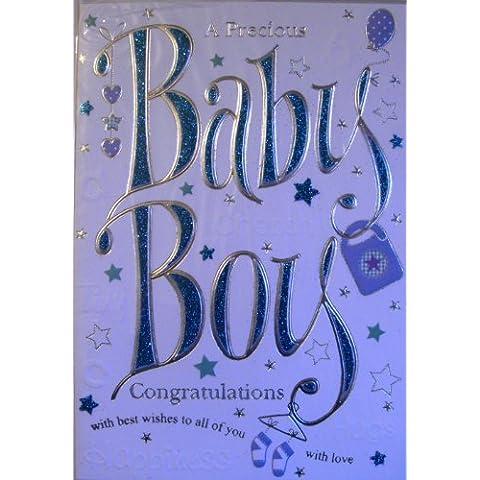 CONGRATULATIONS BABY BOY, A PRECIOUS BABY BOY