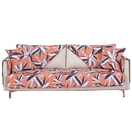 KEANCH Four Seasons General Sofabezug Mode-Sofa-Sets Wohnzimmer Aus Stoff Moderne Einfache Sofaüberwurf, Gesteppte Baumwolle Armlehne Rückenlehne Bezüge (Color : A, Size : 1pcs110x110cm(43x43inch))
