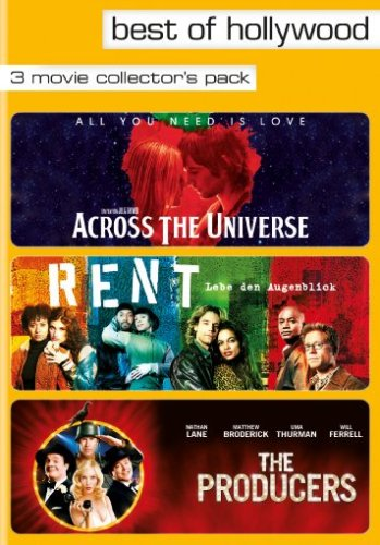 Best of Hollywood - 3 Movie Collector's Pack: Across The Universe / Rent / The Producers [3 DVDs]
