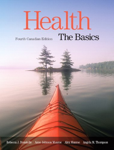 Health: The Basics, Canadian Edition, and Canada's Food Guide Study Card Package, 4E -