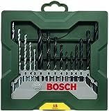 Bosch DIY 15tlg. Mixed-Set Mini-X-Line zum Bohren in Stein, Holz und Metall