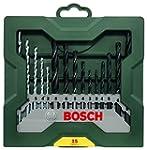 Bosch DIY 15tlg. Mixed-Set Mini-X-Lin...