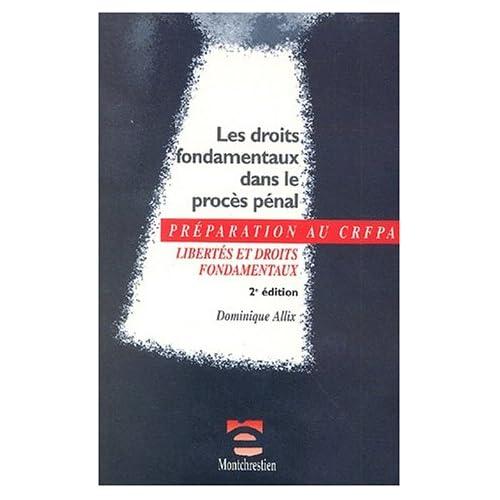 Droits fondamentaux dans le procès, 2e édition