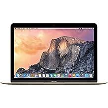 """Apple Macbook - Ordenador portátil de 12"""" (Intel M3, 8 GB RAM, 256 GB SSD, teclado QWERTY español), color dorado"""