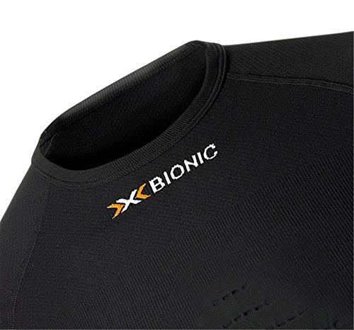 X-Bionic Erwachsene Funktionsbekleidung Man Energizer Summerlight UW Shirt SH SL black