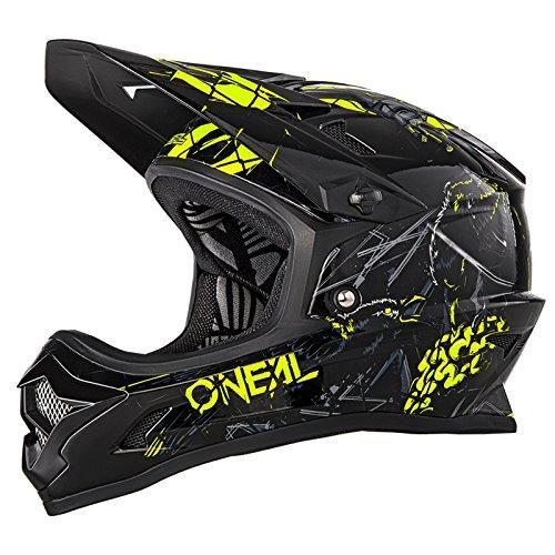 O'Neal Backflip RL2 Zombie Schwarz Fahrrad Helm Downhill MTB Mountain Bike FR DH Fullface, 0500-Z0, Größe S