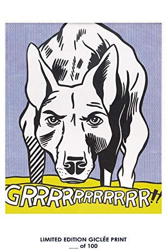 Lost Poster Rare Poster GRRR Roy Lichtenstein Pop Art Nachdruck # 'D/100. 12x 18