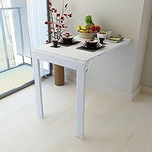 ZR-Mesa de Pared Mesa de Pared Multifuncional Plegable Mesa Plegable contra el Escritorio de