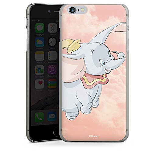 Apple iPhone 8 Hülle Premium Case Cover Disney Dumbo Fanartikel Merchandise Hard Case anthrazit-klar
