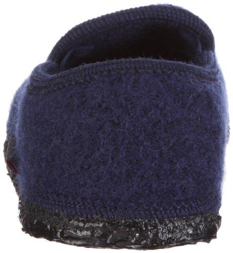 Giesswein - Pantofole Niederthal, Unisex adulto, Grigio (Gris) Blu (Azul)