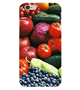 99Sublimation Fruits Every where 3D Hard Polycarbonate Back Case Cover for Apple iPhone 6