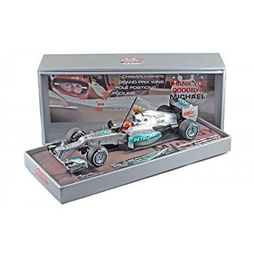 "1:18 Michael Schumacher Mercedes AMG Petronas W03 "" Last Race Brazil "" 2012"