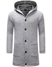 Amazon.it  cappotto uomo lungo - 0 - 20 EUR   Giacche e cappotti   Uomo   Abbigliamento fa6726d501b