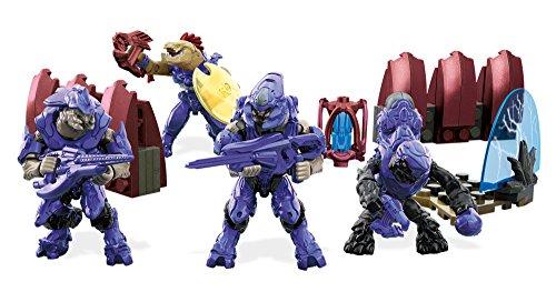 Mattel Mega Bloks DLB96 - Konstruktionsspielzeug, Halo Covenant Warriors (Mega Blocks Halo-sets)