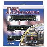 J.R. EF81 + Limited Express Sleeping Cars Series 24 Type 25 [Twilight Express] (Basic 3-Car Set) (Model Train)