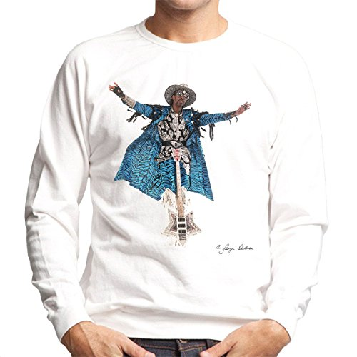 George DuBose Official Photography - Bootsy Collins Guitar Men's Sweatshirt
