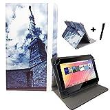 DENVER TAQ 10133 / 10.1 ' Tablet Pc Tasche + Stylus Touch Pen - 10 Zoll Freiheitsstatue Liberty