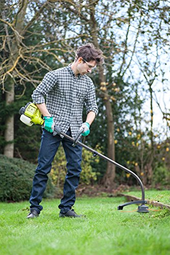 Ryobi RLT254CDSO Petrol (Expand-It) 25.4cc Full Crank Grass Trimmer, 43cm Path, Hyper Green