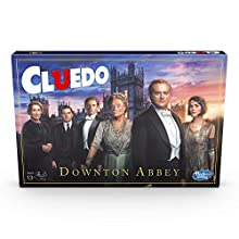 Cluedo Downton Abbey Edition Board Game for Kids Ages 13 and up, Inspired By Downton Abbey