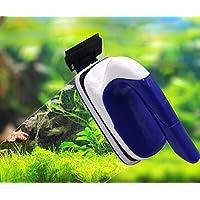 LONDAFISH – Scheibenputzer für das Aquarium, Glas, Algen-Schaber, Design: Schwebende Magnet-Bürste