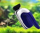 Limpiador de algas de cristal para acuario, diseño flotante magnético, cepillo magnético