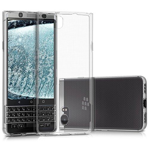 kwmobile BlackBerry KEYone (Key1) Hülle - Handyhülle für BlackBerry KEYone (Key1) - Handy Case in Transparent