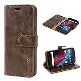 Mulbess Motorola Moto G4 Case Wallet, Moto G4 Plus Case