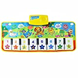 Clearance/BESTOPPEN Musical Toys for Kids Children, Baby Musical Instrument Toys Touch Play Keyboard Music Singing Gym Carpet Mat Singing Funny Gift (a)