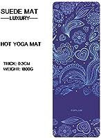 TOPLUS Gymnastikmatte, Yogamatte Yogamatte Gepolstert & rutschfest für Fitness Pilates & Gymnastik mit Tragegurt - Maße...
